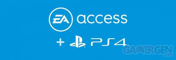EA Access PS4 PlayStation 4 banner
