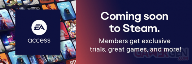 EA Access Steam banner