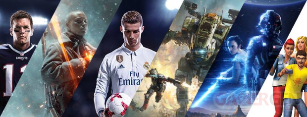 EA Electronic Arts banner line up
