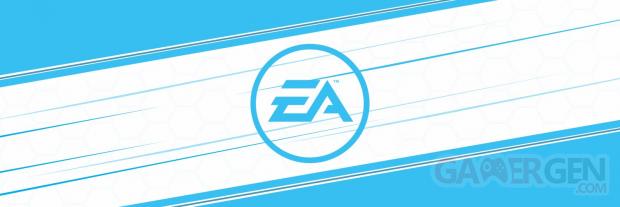 EA Electronic Arts banner logo head
