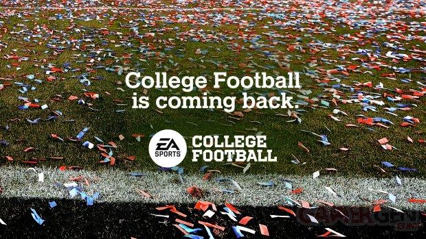 EA Sports College Football 2021 head