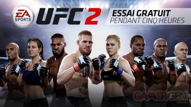 EA Sports UFC 2 version d'essai