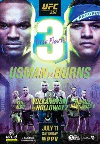 EA Sports UFC 4 reveal UFC 251