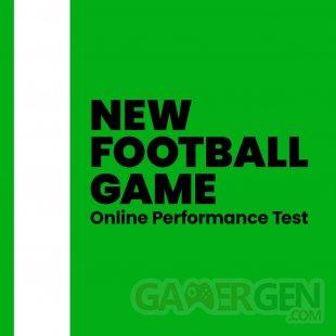 eFootbal PES 2022 New Football Game Online Test Performance démo beta