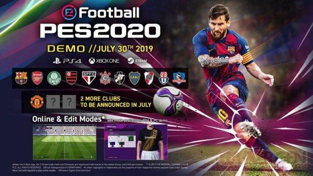eFootball PES 2020 démo