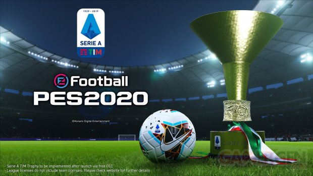 eFootball PES 2020 Serie A