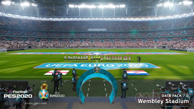 eFootball PES 2020 Wembley Stadium