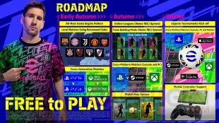 eFootball PES 2022 21 07 2021 roadmap