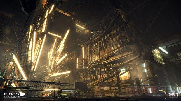 Eidos Montréal Dawn Engine Deus Ex Universe