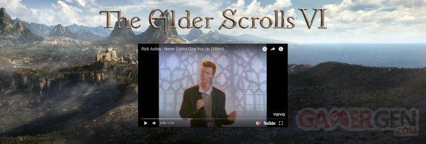 Elder Scrolls VI Rick Roll