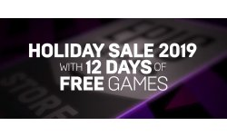 Epic Games Store Holiday Sales head
