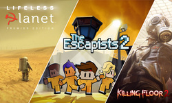 Epic Games Store Lifeless Planet The Escapists Killing Floor 2