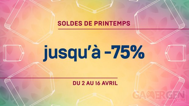 Epic Games Store Soldes Printemps