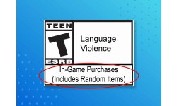 ESRB in game purchases include random items