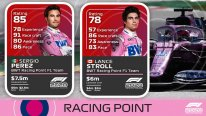 F1 2020 Driver Ratings note pilote 2