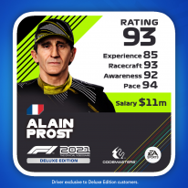 F1 2021 Deluxe Edition MyTeam Icon Driver Mon Écurie 3