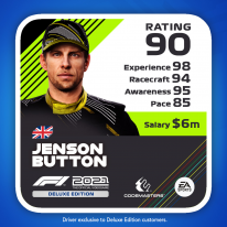 F1 2021 Deluxe Edition MyTeam Icon Driver Mon Écurie 4