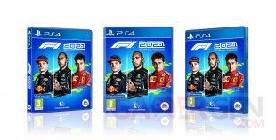F1 2021 jaquette PS4