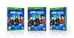 F1 2021 jaquette Xbox