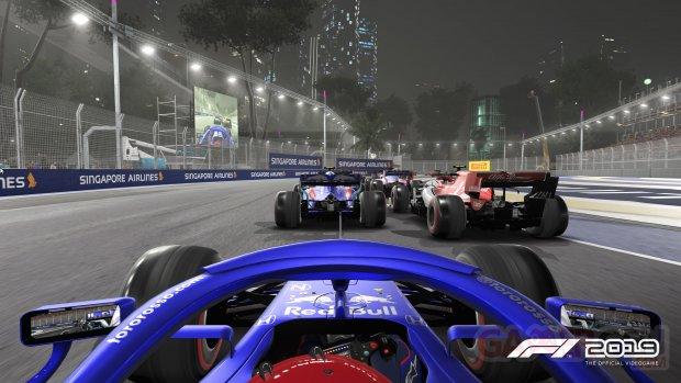 F1 Singapore 01 2019
