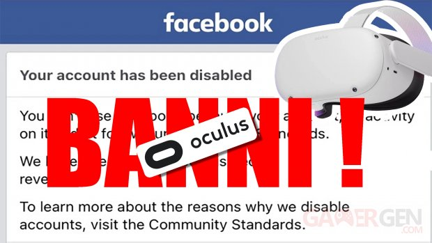 Facebook Ban Oculus Quest
