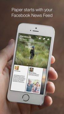 Facebook Paper iOS 2.
