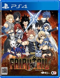 Fairy Tail jaquette PS4 Japon 24 12 2019