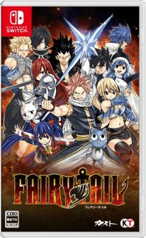 Fairy Tail jaquette Switch Japon 24 12 2019
