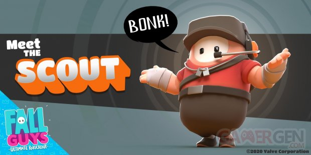 Fall Guys Scout Team Fortress 2