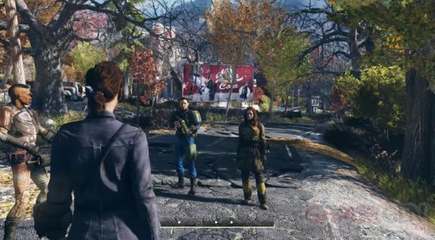 Fallout 76 multiplayer gameplay head