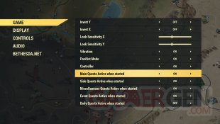 Fallout 76 Wastelanders UI screenshot 2