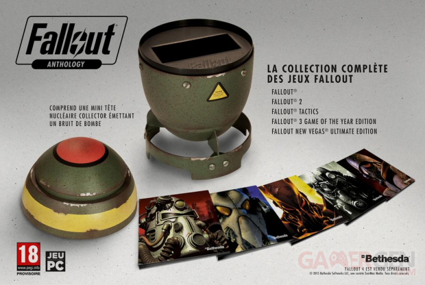 Fallout Anthology 23 07 2015 coffret collector