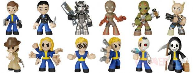 Fallout Funko Figurines Mystery Minis