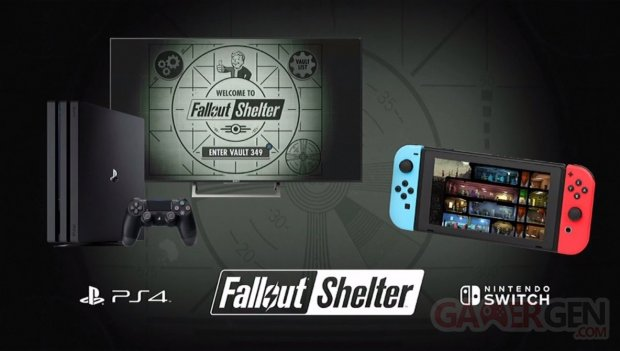 Fallout Shelter Switch PS4