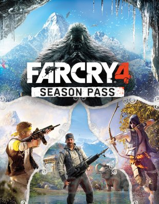 Far Cry 4 20 10 2014 art Season Pass