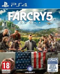 Far Cry 5   Jaquette PS4 (1)