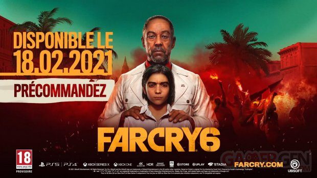 Far Cry 6 date de sortie 11 07 2020