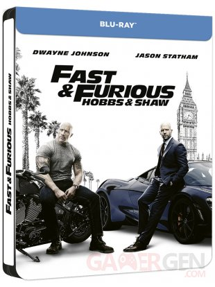 FAST AND FURIOUS PRESENTS HOBBS AND SHAW France BD Retail J Card Packshot 3D