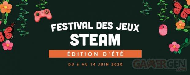 Festival des jeux Steam Édition été 2020