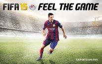 FIFA 15 cover wallpaper Lionel Messi