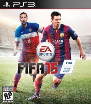 FIFA 15 jaquette USA PS3