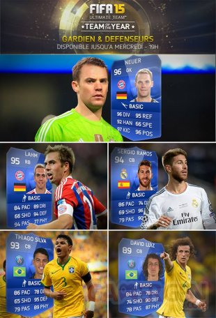 FIFA 15 Ultimate Team e?quipe type 2014 images screenshots 1