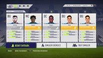 FIFA 18 Entraînement Carrière (dans les menus)