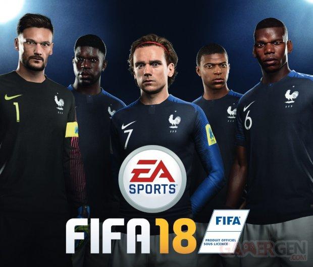 FIFA 18 Jaquette France Coupe du Monde 2018