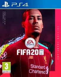 FIFA 20 jaquette cover star Virgil Van Dijk