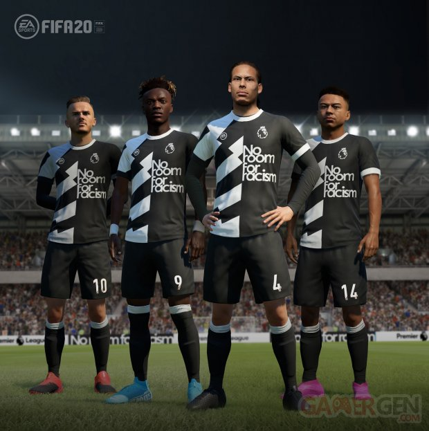 FIFA 20 No Room For Racism head