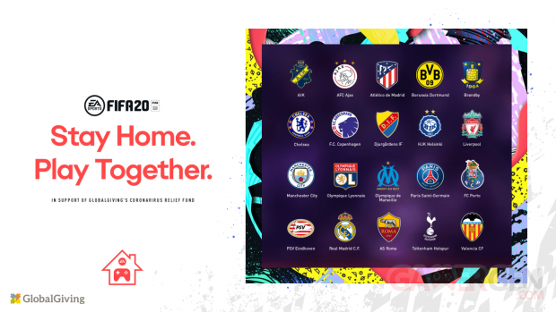 FIFA 20 Stay Home Play Together Cup