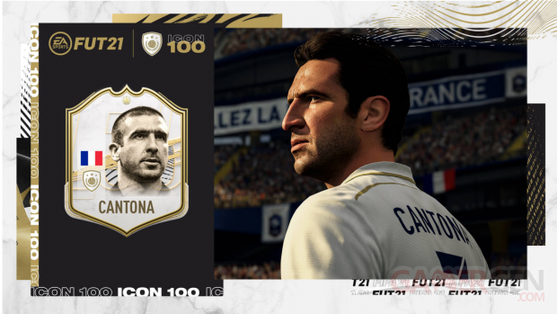 FIFA 21 11 08 2020 FUT Ultimate Team Icones Cantona