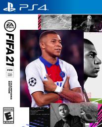 FIFA 21 jaquette key art cover Édition Champions