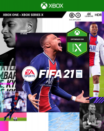 FIFA 21 jaquette Xbox One Series X images (2)